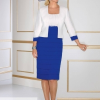 ...Condici, style 70871, Antibes blue; Navy and cream
