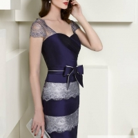 .Higar Novias, style 1003 silver and navy