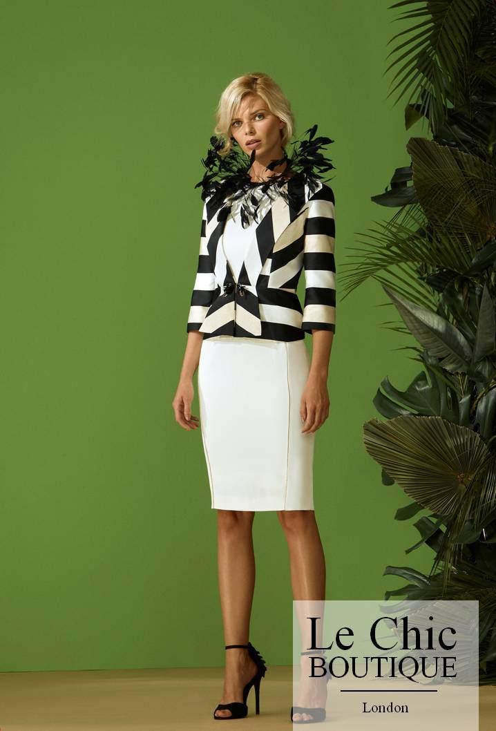 ..Carla Ruiz, style 96574, Black and white