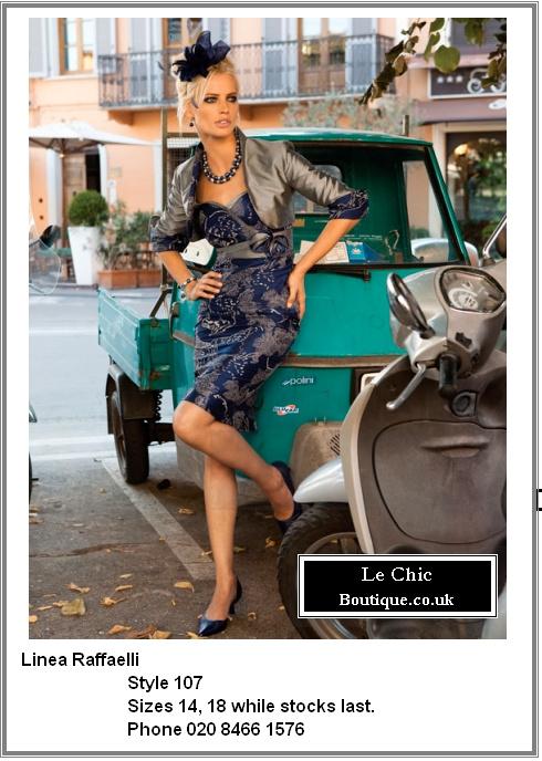 Linea Raffaelli, style 107, Was £775 Now £543