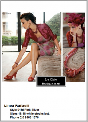 .Linea Raffaelli, style 015d, Was £780 now £546