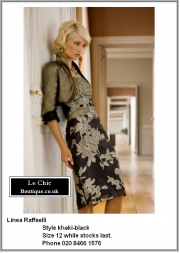 Linea Raffaelli, style Khaki-Black, Was £1025 now £717