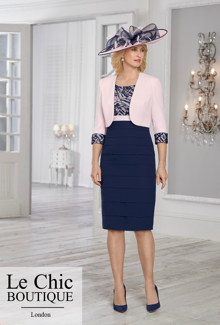 .....Condici, style 71025, Pink and navy; Cosmic