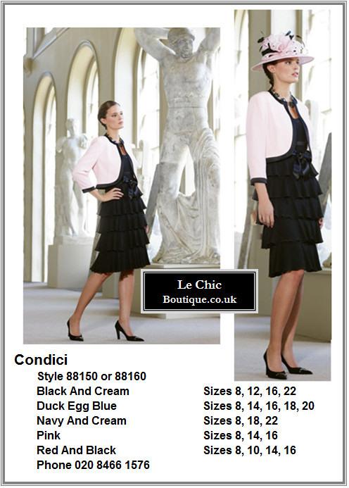 Condici, style 88150 or 88160