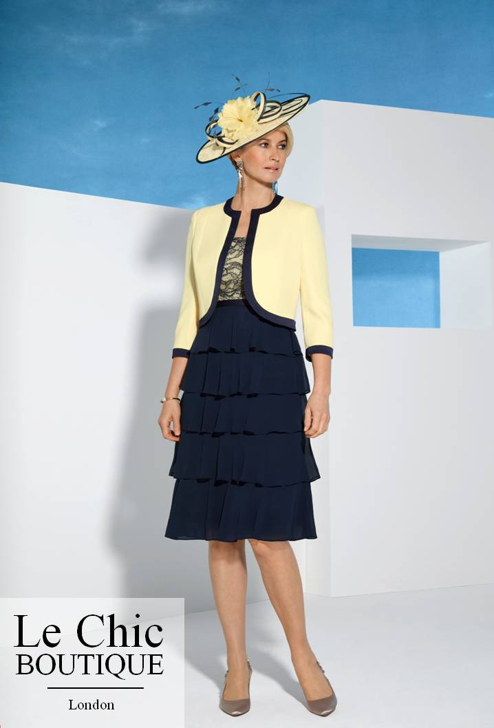 ...Condici; Condici, style 70971, Navy with yellow