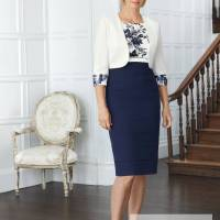 ....Condici, style 70977, Navy, foil and cream