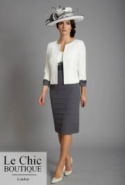 ...Condici, style 70969, Cream and charcoal