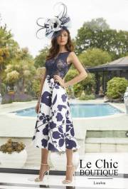 ..Ronald Joyce: Invitations by Veni Infantino, style 29456, Navy and ivory