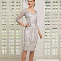 ...Ronald Joyce by Veni Infantino, style 991515, Taupe and ivory..