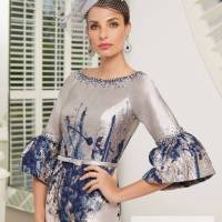 ...Ronald Joyce by Veni Infantino, style 991530, Ice pink and navy..