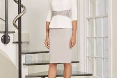 ...Ronald Joyce by Veni Infantino, style 991547, Ivory and taupe