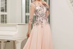 ...Ronald Joyce by Veni Infantino, style 991529, Baby pink and navy